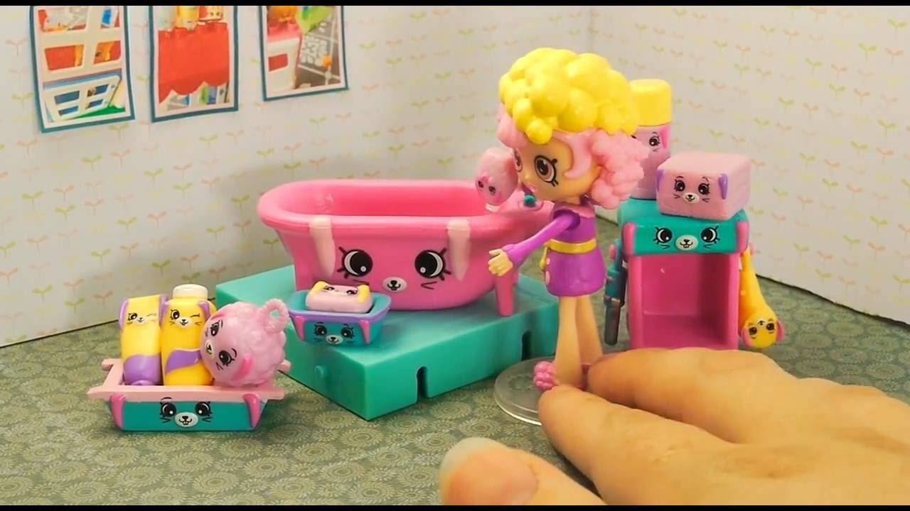 Juliboo NEW SHOPKINS HAPPY PLACES BATHING BUNNY WITH