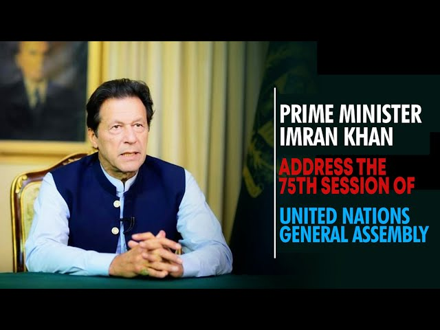 PM Imran Khan Address The 75th Session Of UN