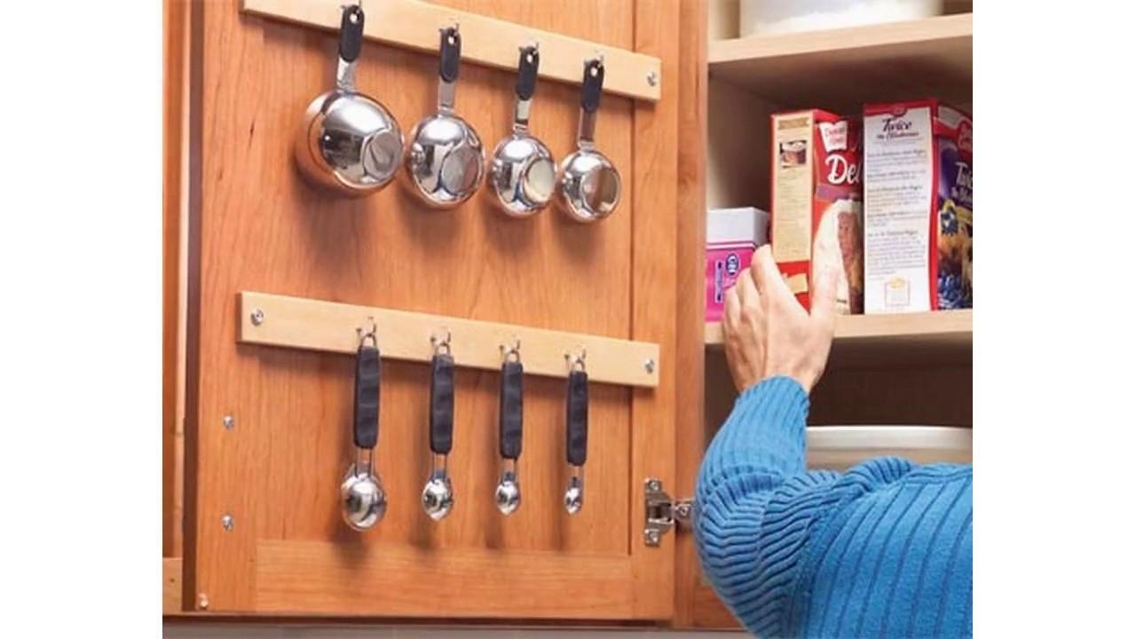 Küchenschrank organisieren ideen - YouTube