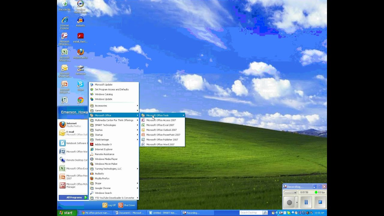 print screen and microsoft office picture manager