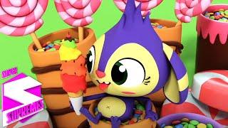 Warna pelangi | Kartun anak | Bayi sajak | Super Supremes Indonesia | Lagu anak anak
