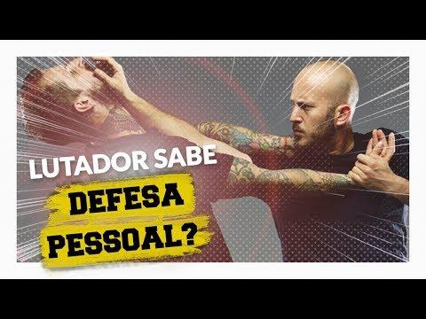 DEFESA PESSOAL - Lutador profissional de MMA sabe se defender na rua?
