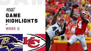 Download Ravens vs. Chiefs Week 3 Highlights | NFL 2019 Mp3 and Videos