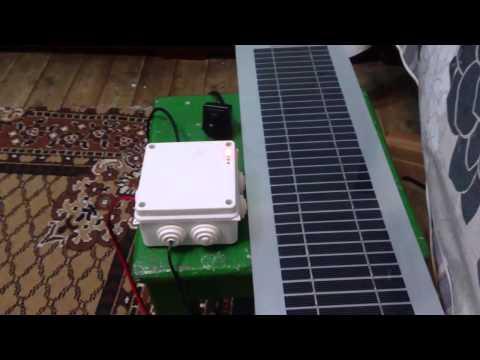 Solar powered wifi  ipcam DIY