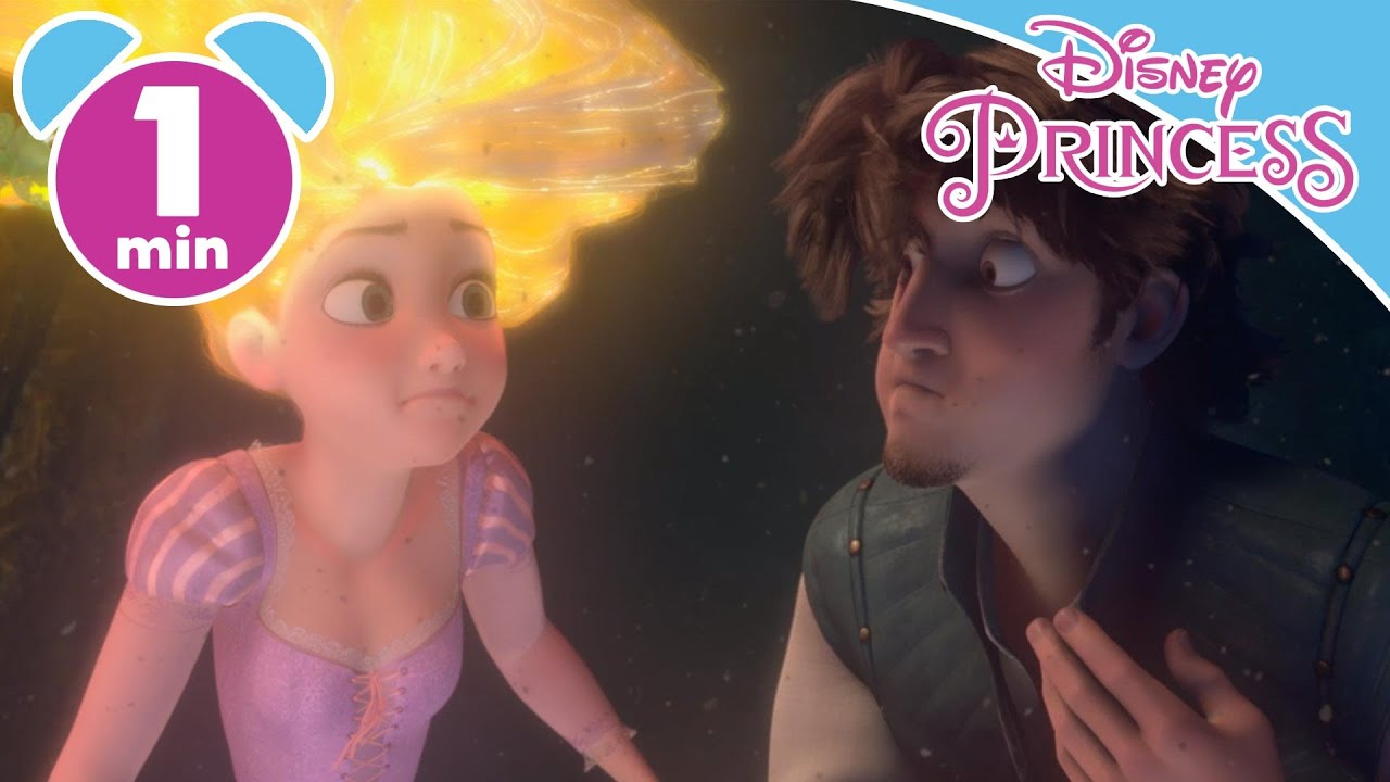 Tangled | Rapunzel And Flynn Rider Escaping The Cave ...