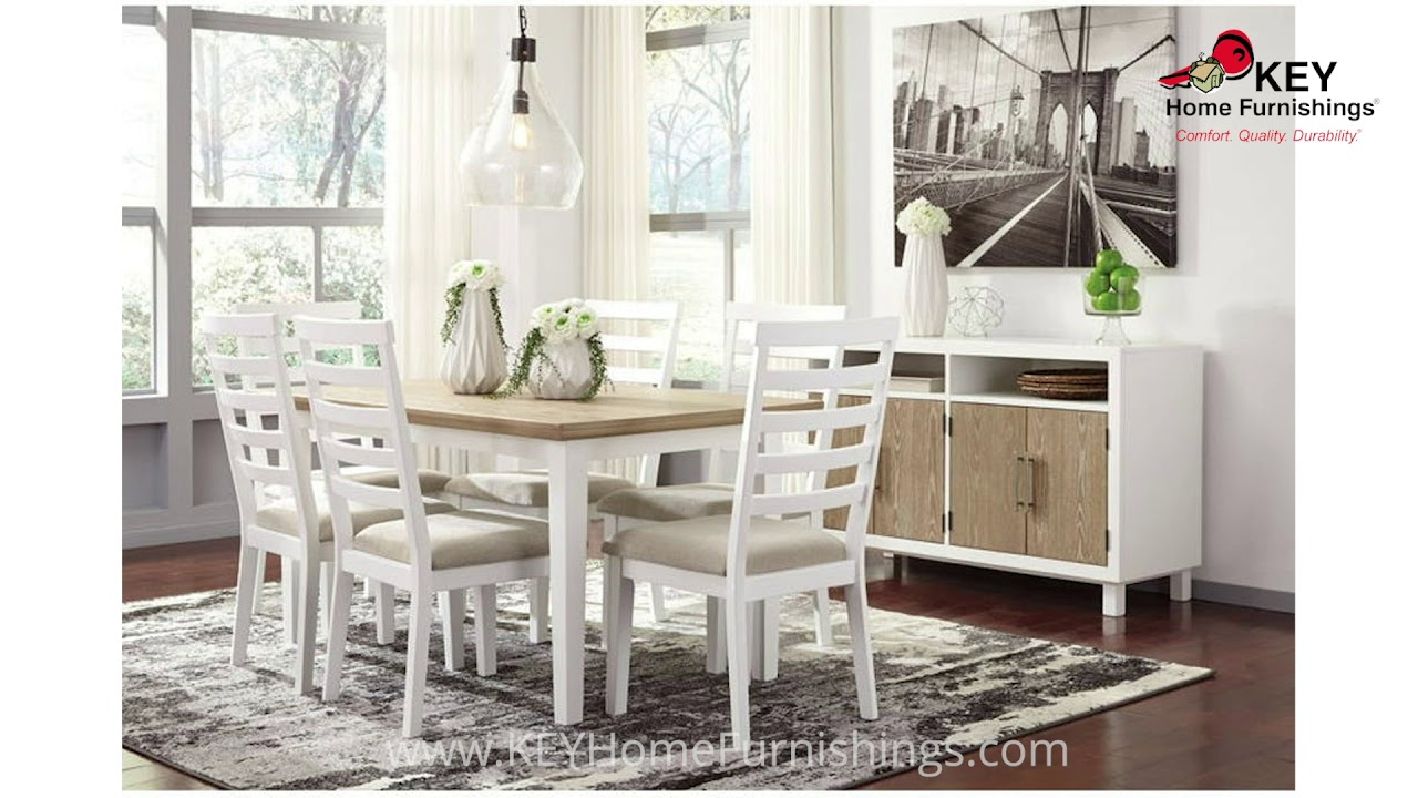 Ashley Gardomi D632 Collection | Dining Room Furniture Video | 2018 ...