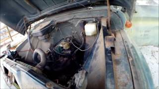 Project Truck 1965 Chevy C60 Inline 6 292 Getting It Running Part 3