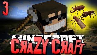 Minecraft CRAZY CRAFT 3 - MINER'S DREAM (Minecraft Mod Survival)