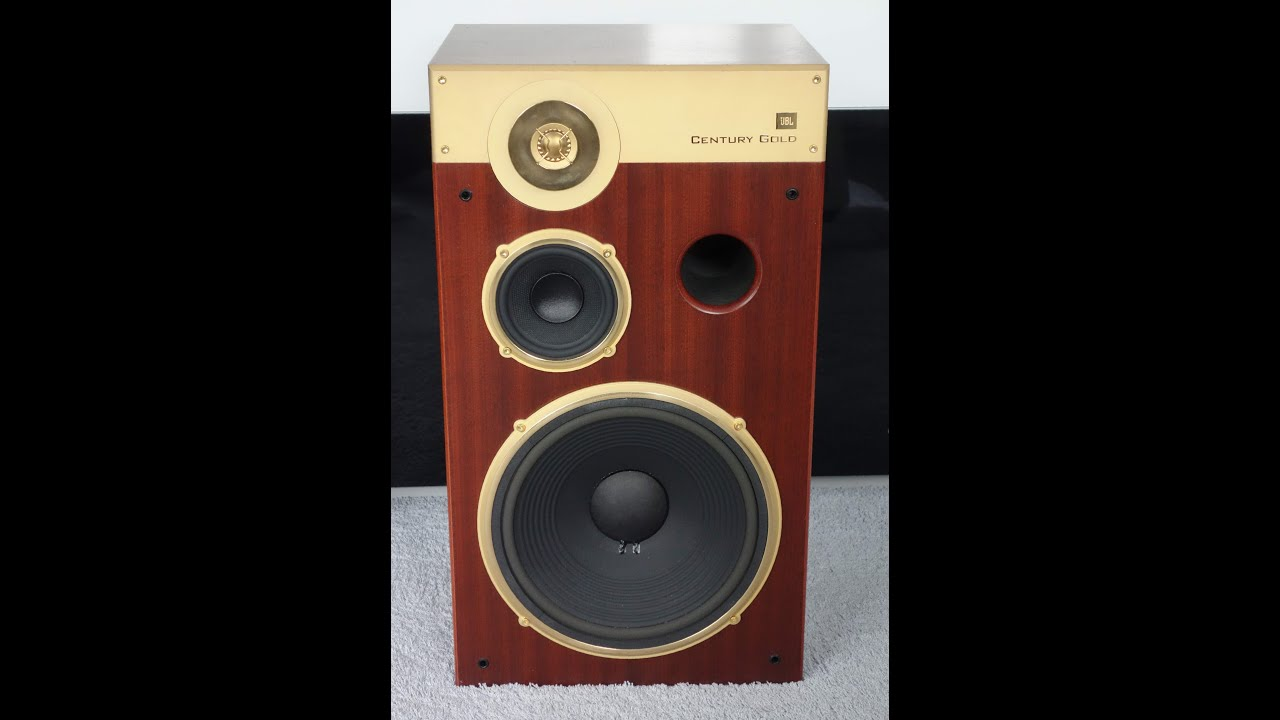 Jbl Century Gold Limited Edition Youtube
