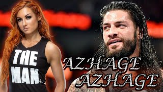 Roman Reigns & Becky Lynch | Tamil Album Song - Azhage Azhage