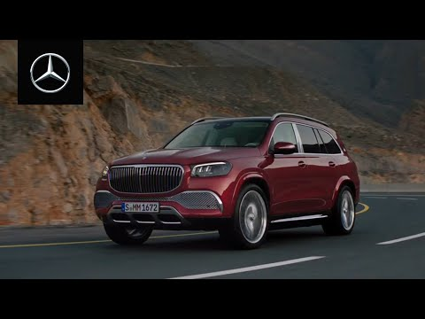 The Mercedes-Maybach GLS: The wealth of independence.