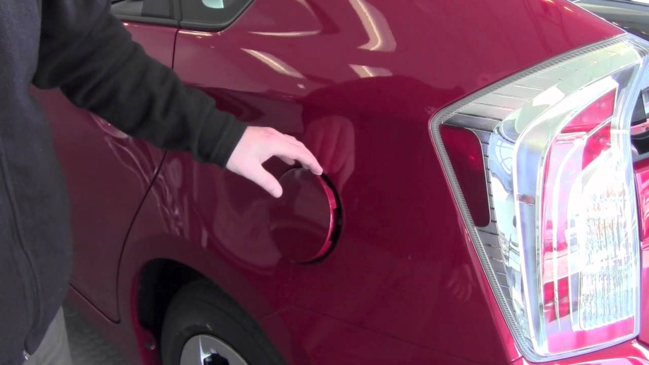 2017 Toyota Prius Fuel Door Release How To By City You