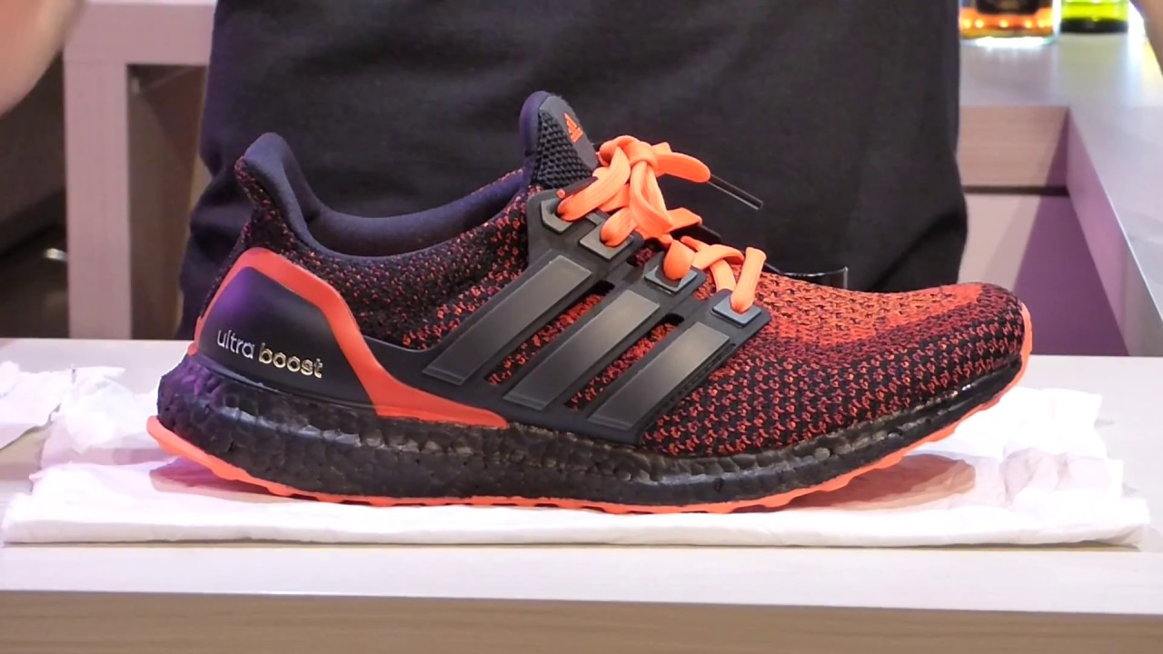 068d5aad814f2 Tutorial Custom Adidas Ultra Boost Solar Red ITA - YouTube