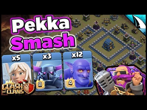 Wreck With Pekka Smash In War & Legend League! | Clash Of Clans