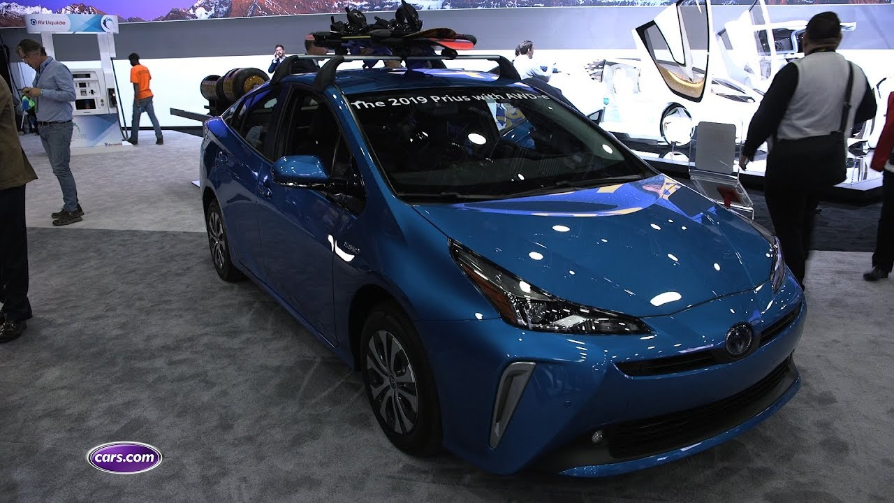 2019 Toyota Prius Awd E First Impressions Cars