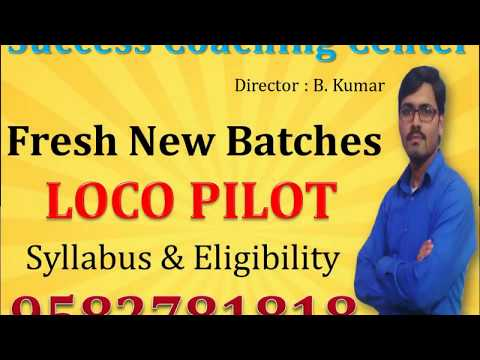 Best Assistant Loco Pilot Coaching Center in Delhi, South Delhi