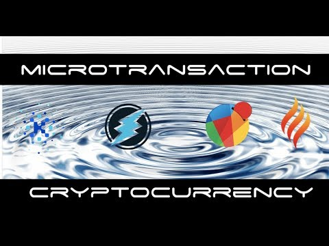 Microtransaction Cryptocurrency Are Top Gaining Coins At The Moment