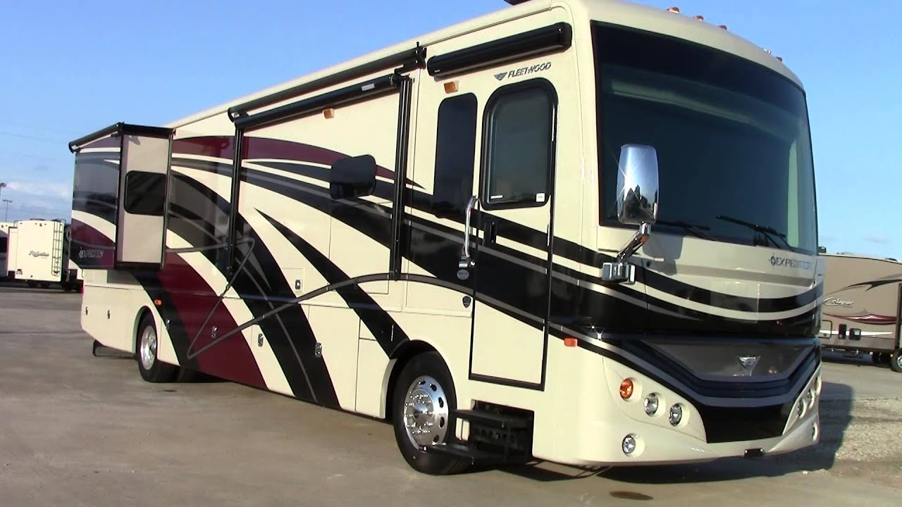 New 2016 fleetwood expedition 38k class a diesel motorhome for Class a diesel motor homes