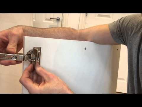 How to remove an IKEA kitchen door.