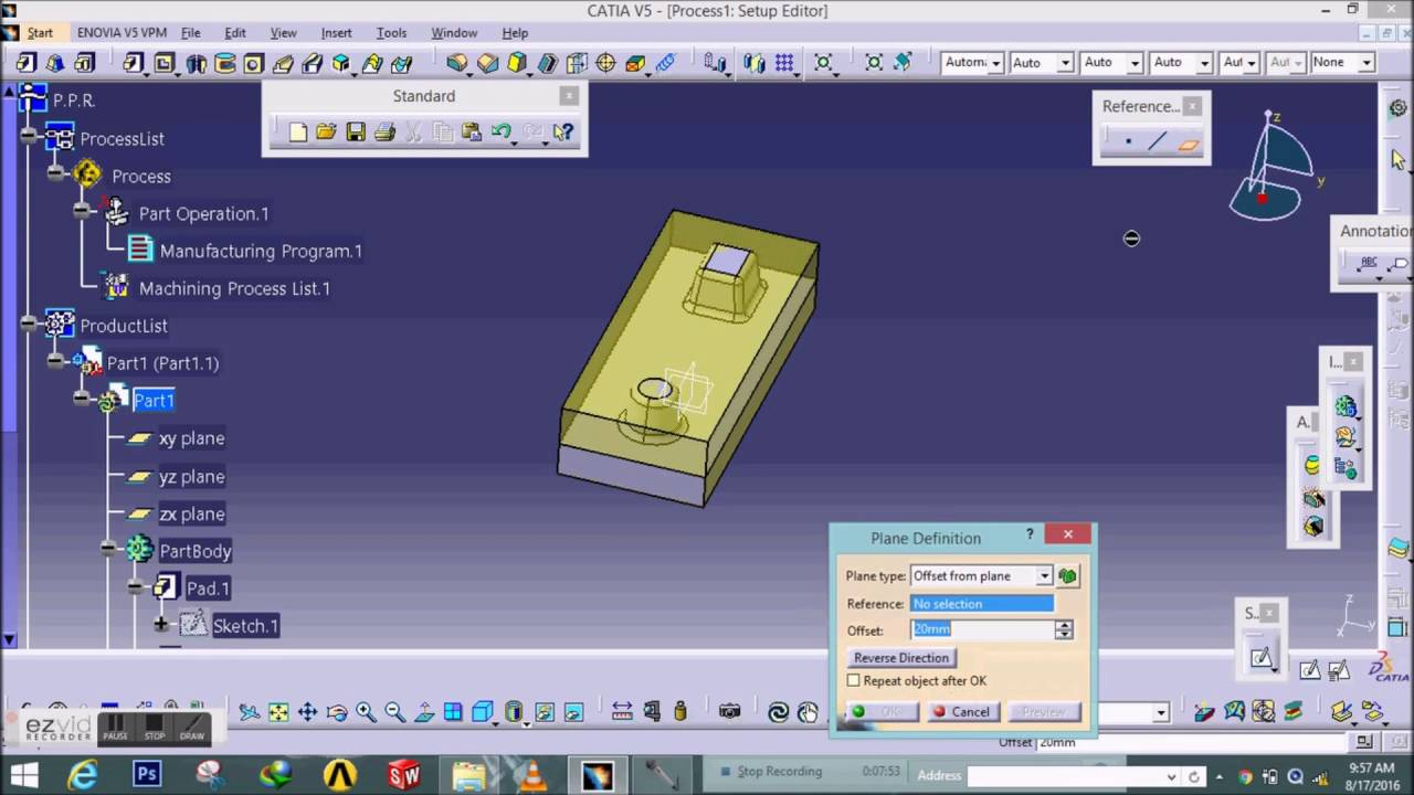 Catia online training | surface modeling tutorial for beginners.