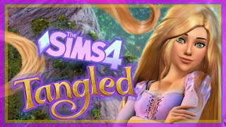 The Sims 4 Create a Sim Rapunzel (Inspired)