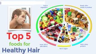 HOW TO PREVENT HAIR FALL NATURALLY | Top 5 Foods To Prevent Hair Loss Best Diet For Hair Loss In Men