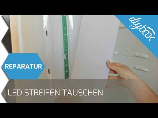 Bomann Kühlschrank Seriennummer : Kühlschrank led beleuchtung wechseln anleitung diybook at