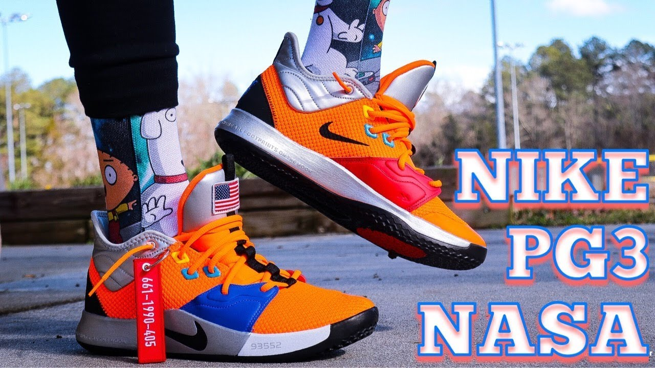 big sale 9d088 c7130 NIKE PG 3 NASA IN DEPTH REVIEW   GAS ON FEET!!