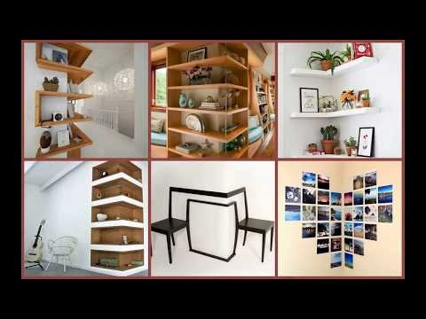 Corner Wall Decor Ideas DIY 2018 | Framing Cabinet Hanging Mount TV Installation Run Craft Aesthetic