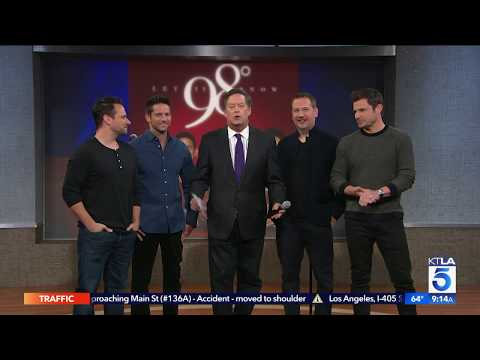 Get in the Holiday Spirit with 98 Degrees New Album Let It Snow