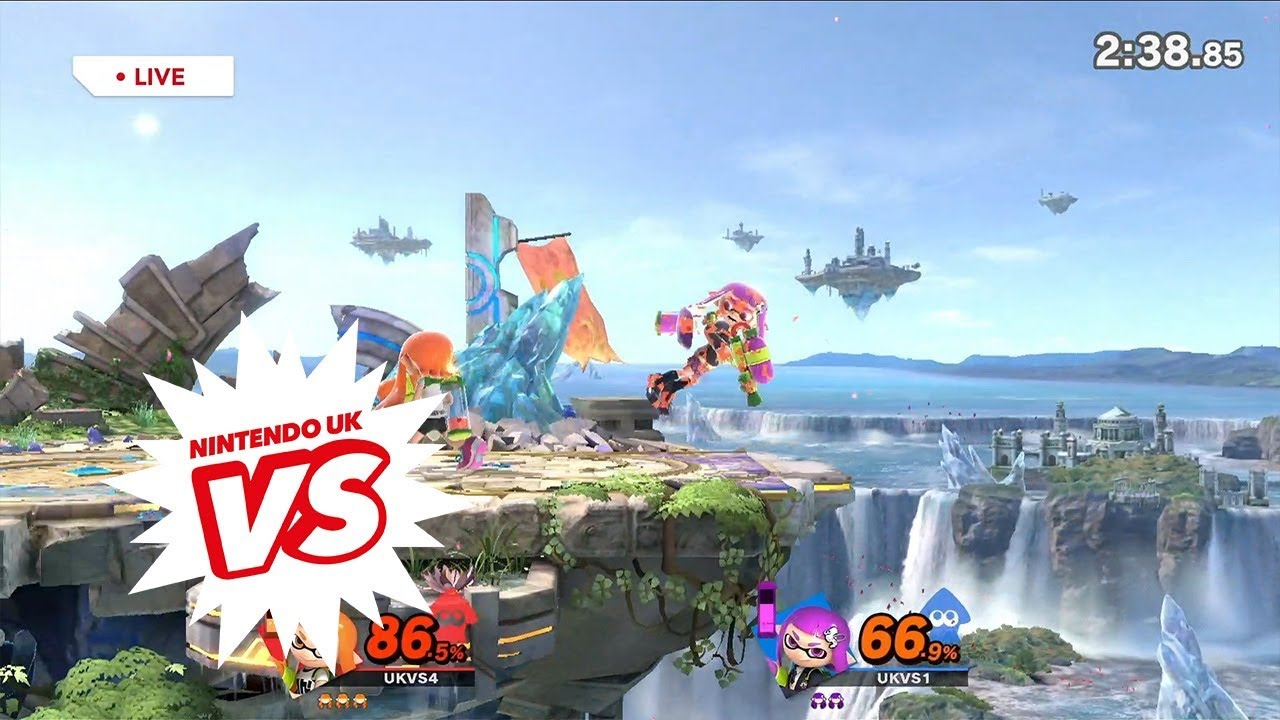 Super Smash Bros. Ultimate - Nintendo UK VS Showcase