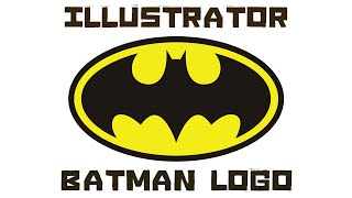 Illustrator: Let's design Batman logo