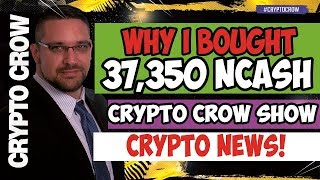 STOP BULLYING - Why I bought 37,350 NCASH Nucleus Vision - PART 1 😱