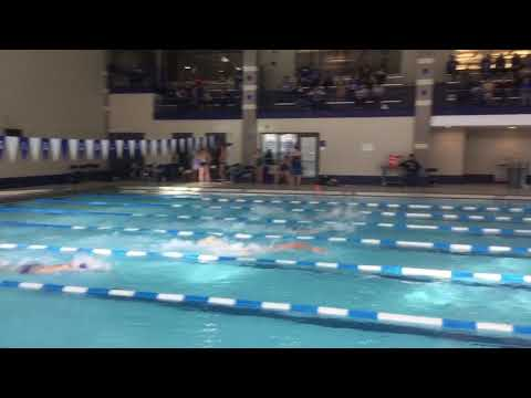 Andrew B - 100 Free - Illinois College Dual Meet
