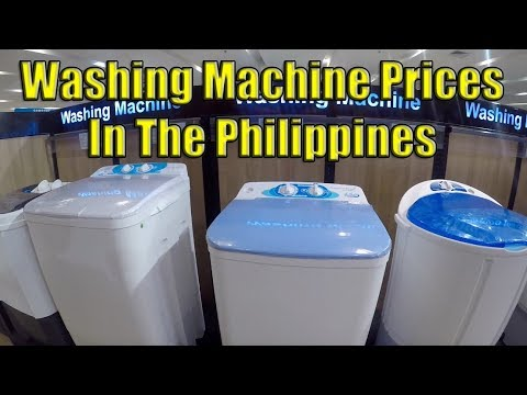 Washing Machine Prices In The Philippines. (Cash And Credit May 2019)