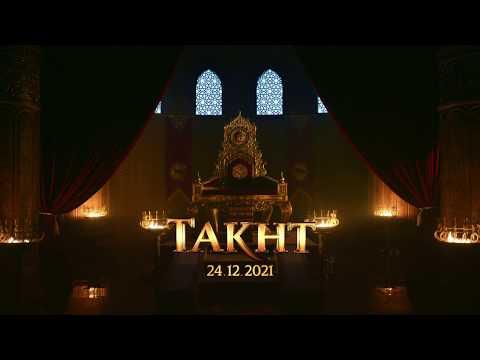 TAKHT by Karan Johar | Ranveer, Kareena, Alia, Vicky, Bhumi, Janhvi & Anil | 24 Dec 2021