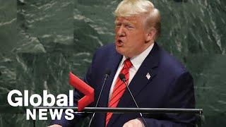 U.S. President Donald Trump addresses UN General Assembly | FULL
