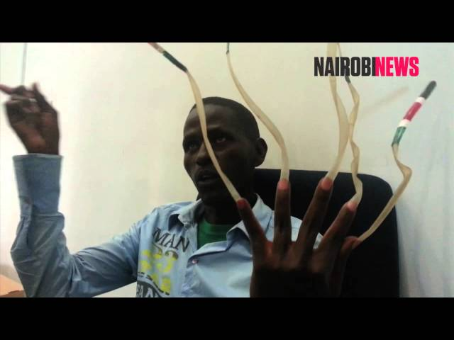 I want to beat world record, says Kenyan with longest nails ▷ Tuko ...