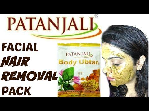 **PATANJALI facial hair removal pack**  Tanutalks 