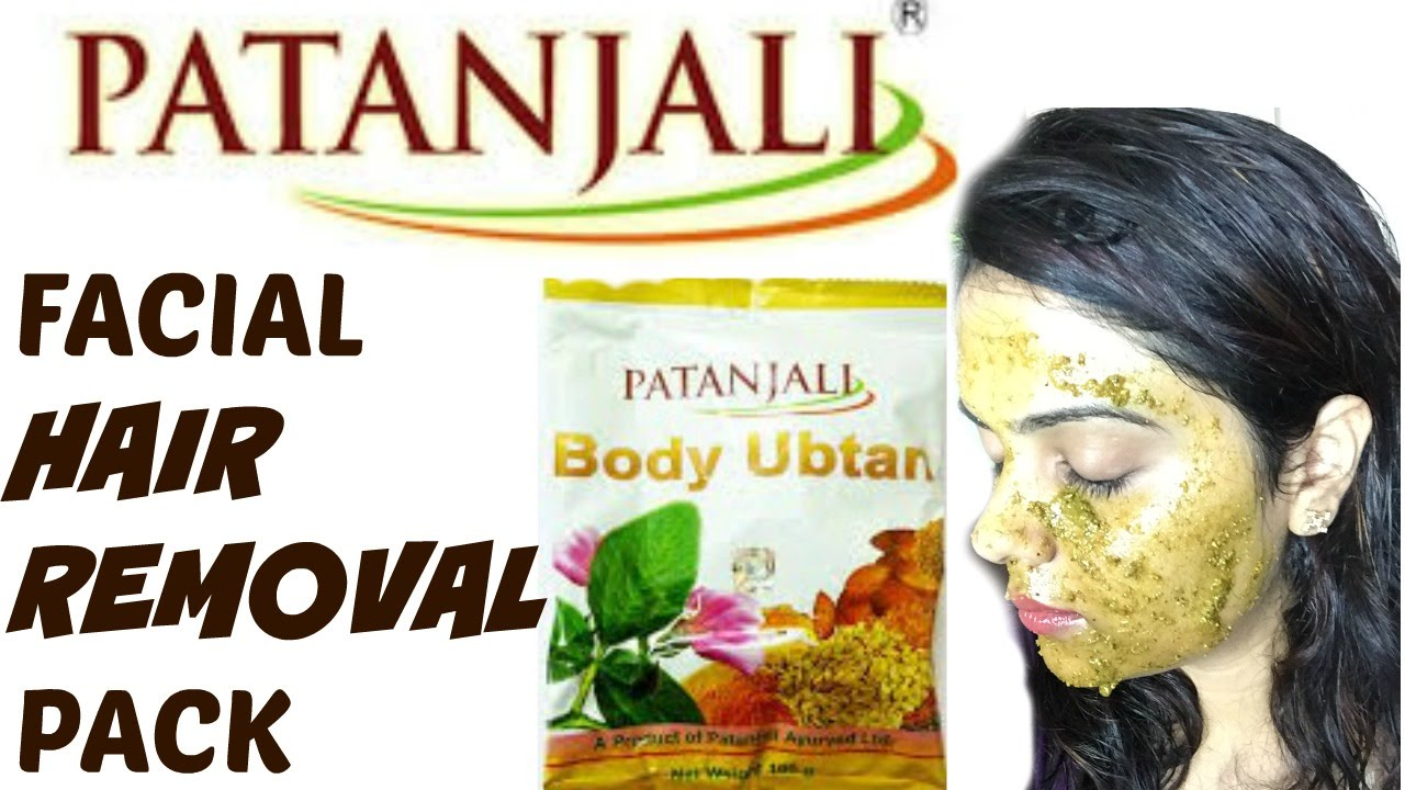 Patanjali Facial Hair Removal Pack Tanutalks Youtube