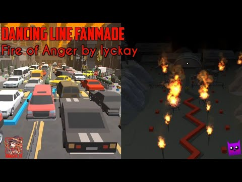 Download Max Line [Dancing Line Fanmade] - Fire of Anger by lyckay (ft. SuperTapper)