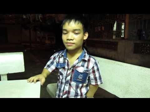 Video clip chia sẻ của cậu bé tí hon Ma Văn Tụ.