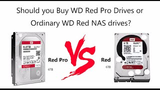 Should you buy WD Red Pro Drives or Ordinary WD Red NAS Drives? - What is best for you