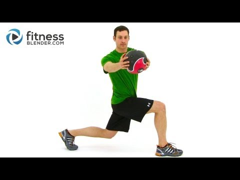 Total Body Medicine Ball Workout - Medicine Ball Exercises