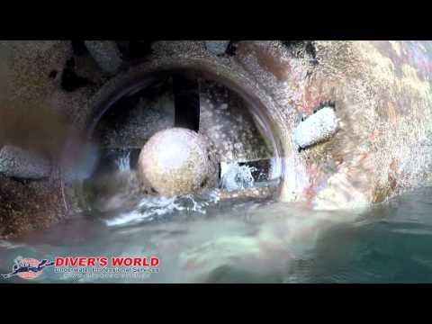 Bowthruster damage - DIVER'S WORLD - Antzoulis