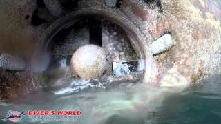 Bowthruster damage - DIVER'S WORLD - Antzoulis