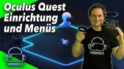 Oculus Quest - Einrichtung, Guardian-System, Menüs und First Contact [Virtual Reality]