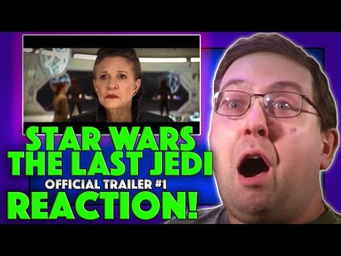 REACTION! Star Wars: The Last Jedi Trailer #1 - Daisy Ridley Movie 2017