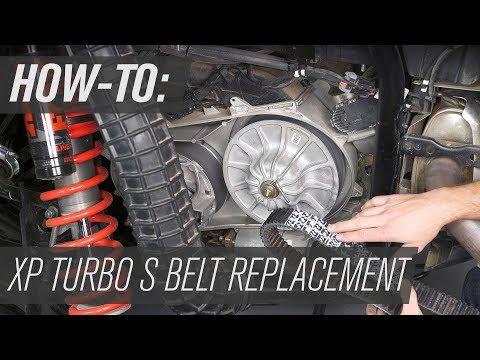 Polaris Drive Belt Replacement | Polaris XP Turbo Models
