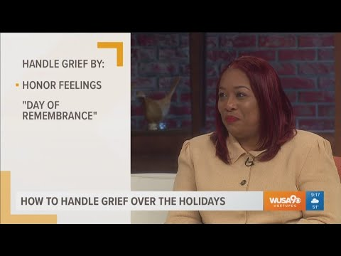 Tips on how to handle grief over the holidays